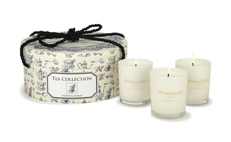 Penhaligon's Tea Collection of 3 Votive Candles 3 x 7.4oz/70g New 714bf34f-8c00-4c36-bdfe-c08c14169e63