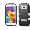 Insten Hybrid Rubber Case W/stand Galaxy Core Prime/prevailblack/white