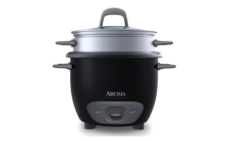 Aroma Housewares 6-Cup Pot-Style Rice Cooker and Food Steamer e919ebe0-4199-46e8-8b6a-fc8853f3427f