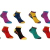 12 pairs of our days of the weeks sock in ladies sizes