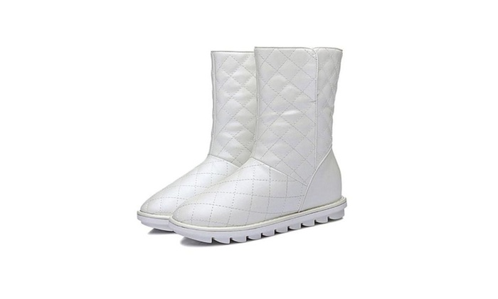 Women's Ladies Winter Casual Solid Simple Snow Boots