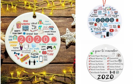 Decorations Remember 2020 Christmas Tree Decor Ornament