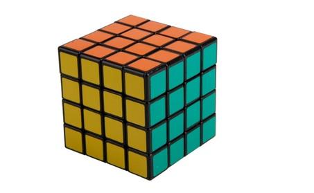 SHS 4x4x4 Rubik's Revenge Magic Cube Puzzle Toy Black b8cace18-dabc-497d-8bb2-53a5d90b6831