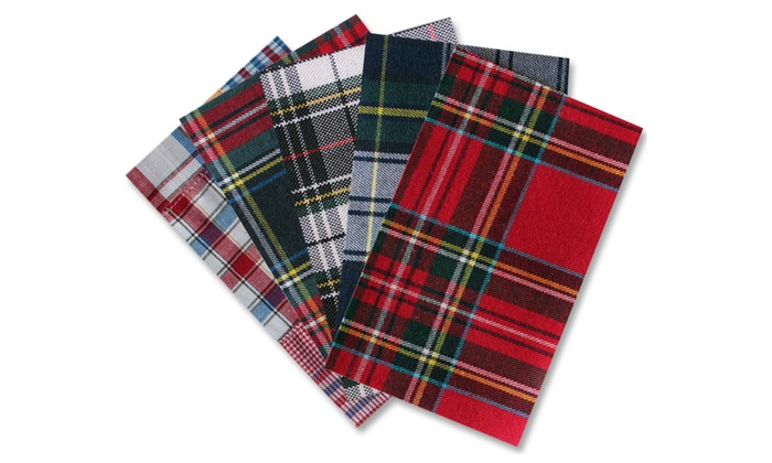 Iron-On Patches PLAID