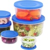 Air-Tight Mixing Bowl Set with Lids (12-Piece)