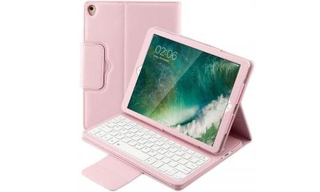 iPad 9.7 Air 2 /1 Auto/Sleep Wake Folio Case Wireless Leather Keyboard Case