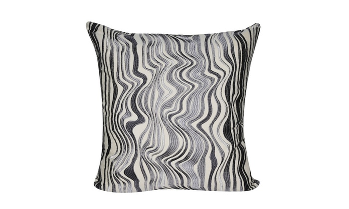 Loom And Mill P4040P 40x40 Charcoal Marble Decorative Adorable Loom And Mill Decorative Pillows