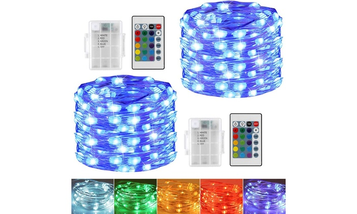 Up To 28 Off On 2 Pack 16 Color Changing 50 L Groupon Goods