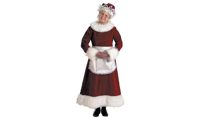 Up To 32 Off On Halco 7058 Mrs Claus Dress P Groupon Goods