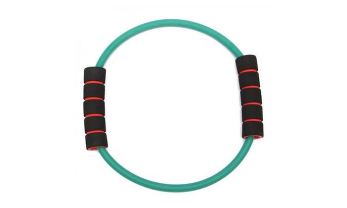 alppstore: O-shaped Latex Yoga Tube Gym Fitness Resistance Band Stretch Exercise