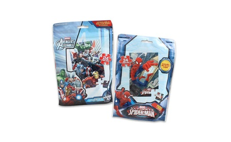 Spider-Man and Avengers Puzzle 24-piece - Asst 1a50559b-baa3-45d5-a58d-30bfd4db47f1