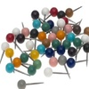 Map Pins Assorted Colors Box 50