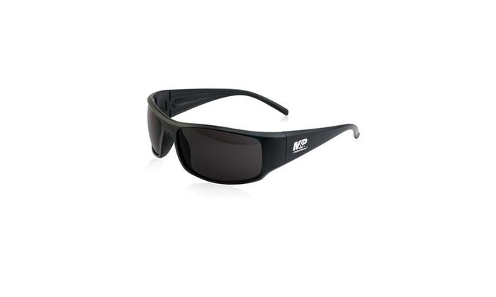 M&P Thunderbolt Full Frame Shooting Glasses Black/Smoke   Groupon
