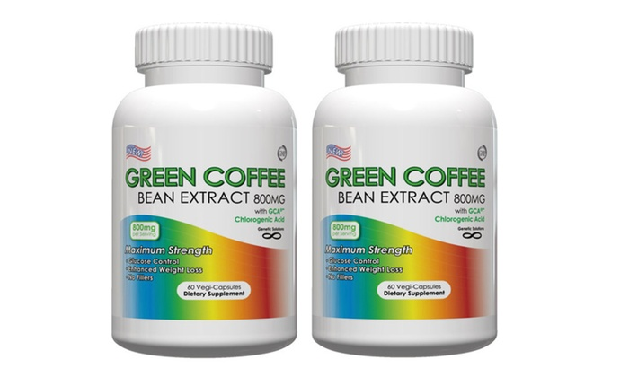Buy It Now : 2 or 3 Bottles Green Coffee Bean Extract-800mg Per Serving,60 Vege Cap