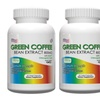 2 or 3 Bottles Green Coffee Bean Extract-800mg Per Serving,60 Vege Cap