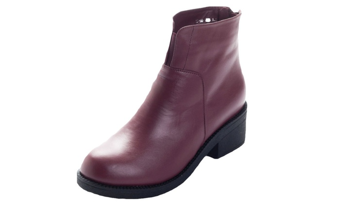 Women's ladies Casual Slip-ON Martin Boots