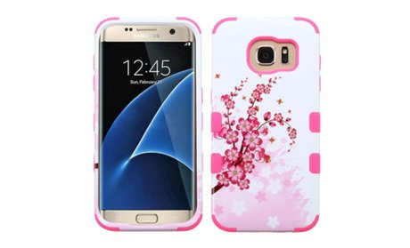 Insten Tuff Design Hard Hybrid Silicone Cover Case For Samsung...