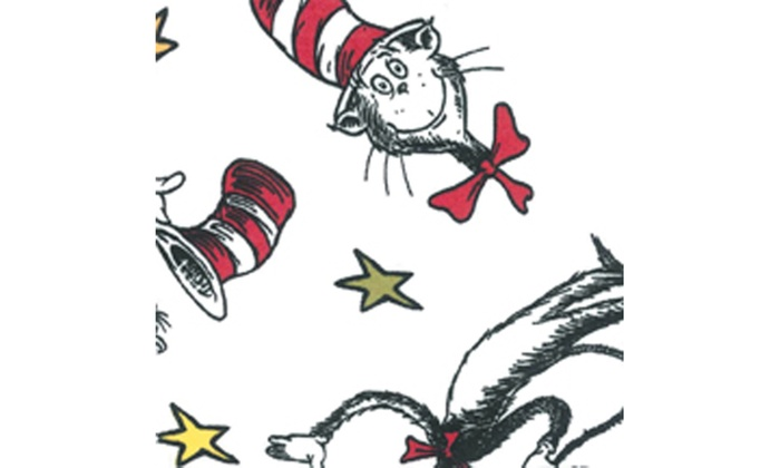 Trend Lab Changing Pad Cover Dr Seuss Cat In The Hat