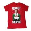 Christmas Elf Omg Santa Graphic T-Shirt
