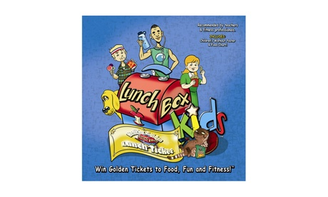 LunchBox Kids Health & Fitness Educational Board Game 62bef04c-6555-465f-b791-6a3a94a943c8