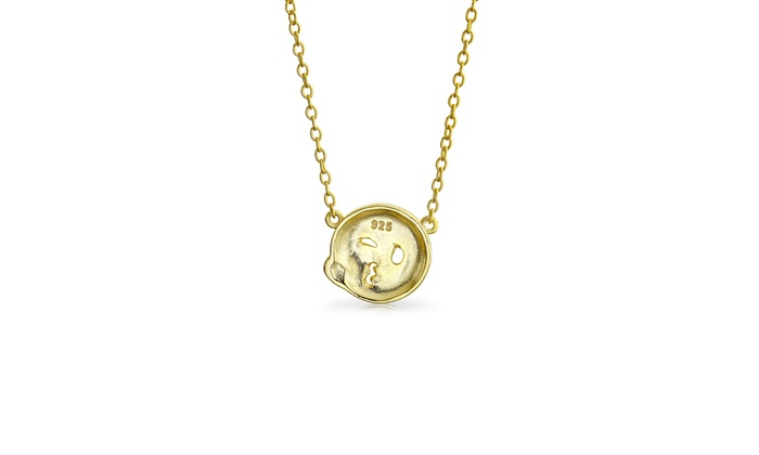 Jewels Obsession Sweet 16 Necklace 14K Rose Gold-plated 925 Silver Sweet 16 Pendant with 16 Necklace
