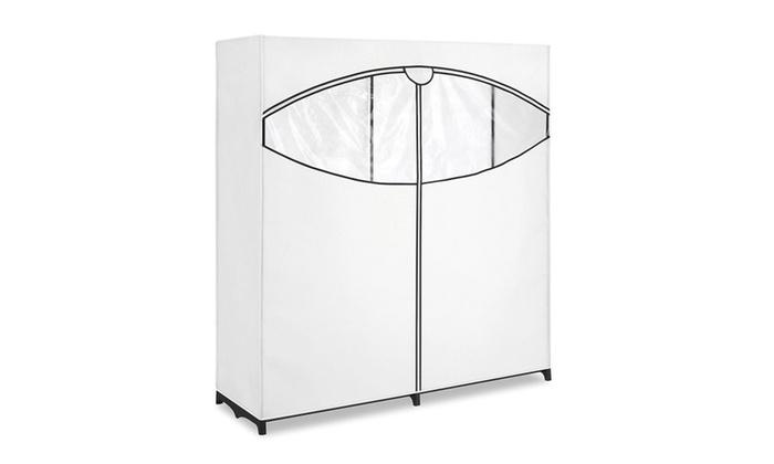 Merveilleux Whitmor Extra Wide Clothes Closet   Freestanding Garment Organizer