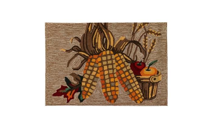 Liora Manne Frontporch Corn Indoor Outdoor Rug Neutral Groupon