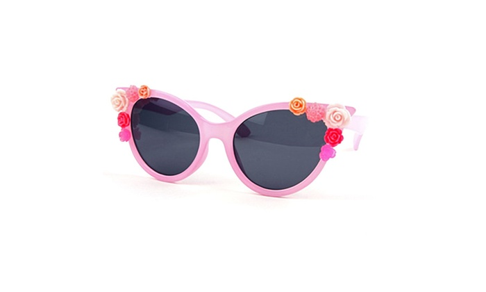 fa8c08f3b95 Retro Vintage Style Flower Cat Eye Fashion Sunglasses P2128