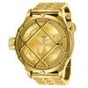 Invicta Mens 26466 Russian Diver Quartz 3 Hand Gold Dial Watch