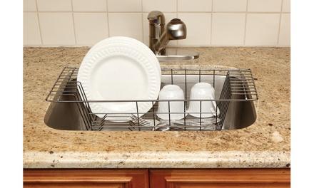 Kitchen Details Over-the-Sink Dish Rack