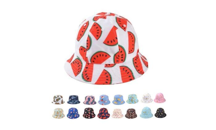 Fashion Fruits Print Summer Hats for Women