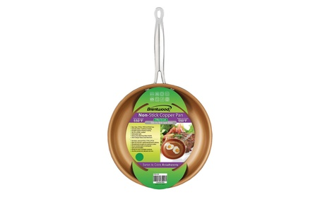 Brentwood Appliances BFP-320C Nonstick Induction Copper Fry Pan (8