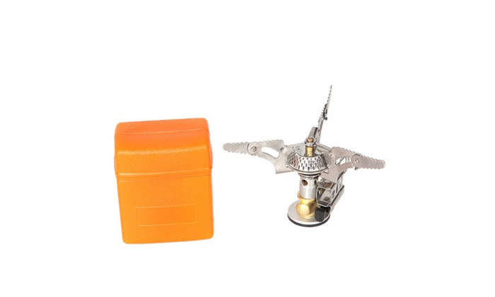 Camping Gas Stove Portable Folding Mini Outdoor Pocket Burner