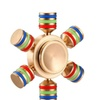 Rainbow Fidget Spinner Brass Spiner Comes With Metal Box Anti Stress