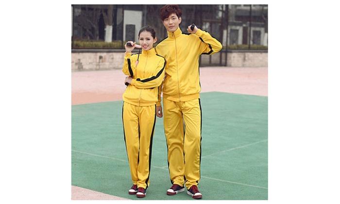 Jeet Kune Do Unisex Training Track Suit Martial Arts Sportswear