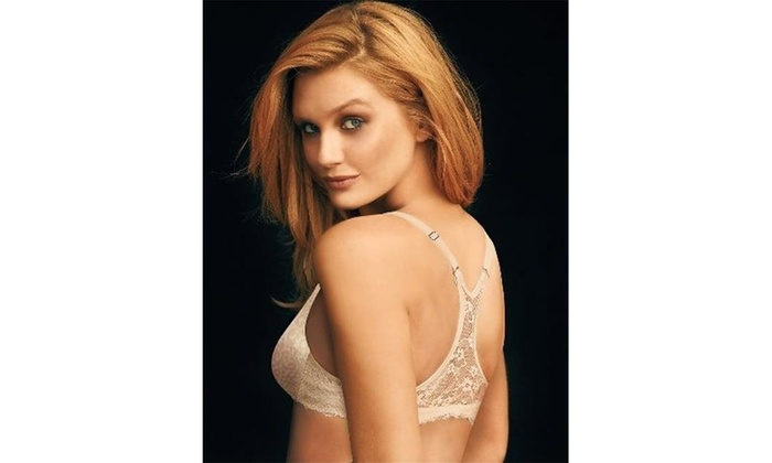 1e2a930515b Maidenform 7112 One Fab Fit Extra Coverage Lace T-Back Bra Paris Animal  Print -