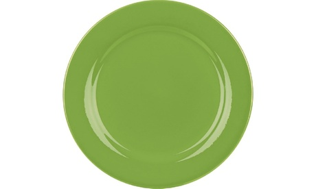 Set of 4 Salad Plates Fun Factory Green Apple e5fd7b6e-0bef-4307-8d96-788f570e2661