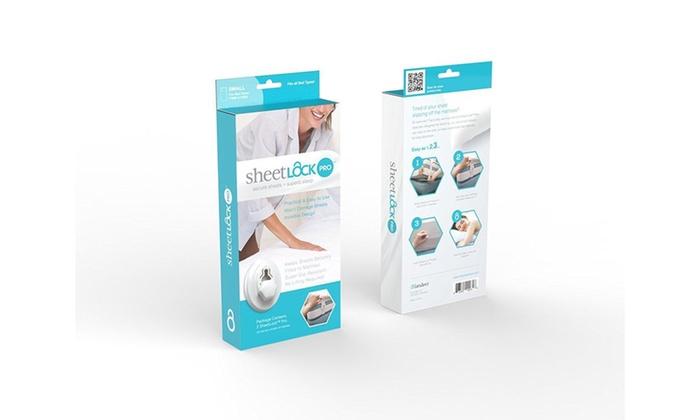 Sheetlock Bed Sheet Fastener Set Premium Sheet Holders To Keep