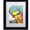 Dean Russo 'Sid' Matted Black Framed Art