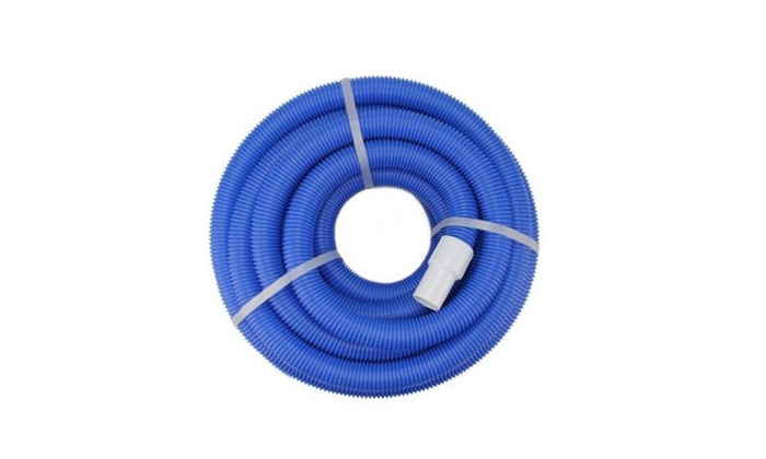 NorthLight Blue Blow Molded PE In Ground Swimming Pool Vacuum Hose ...