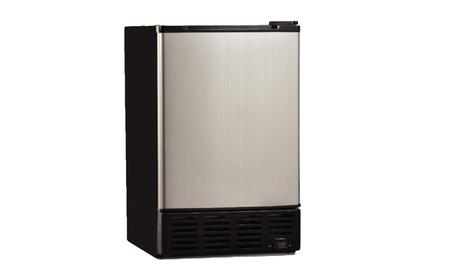 Commercial Single Reversible Door Ice Maker 1.0 Cubic Feet Stainless 9f44da14-66c8-494b-9cb0-9b097b5fc887