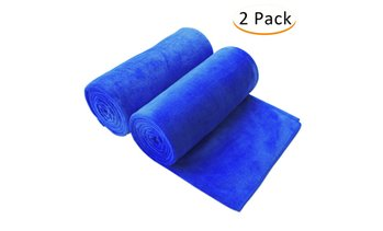 100% Microfiber Bath Towel (2-Pack)