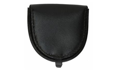 100% Leather Horse Shoe Style Change Purse (Goods Women's Fashion Accessories Wallets) photo