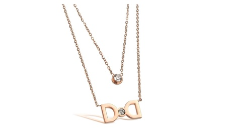 Korea Design Stainless Steel Women's Necklace Jewelry Gifts 6f8a069e-649f-4a5c-9643-91fda17045c5