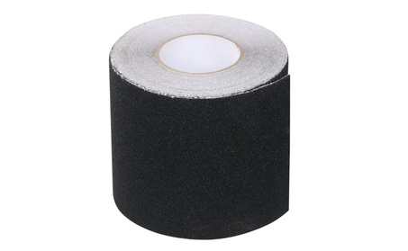 Black Safety Non Skid Tape Roll Anti Slip Tape Sticker Grip Safe Grit 4b34e5a2-5132-4c89-809c-b456d0af3d8e