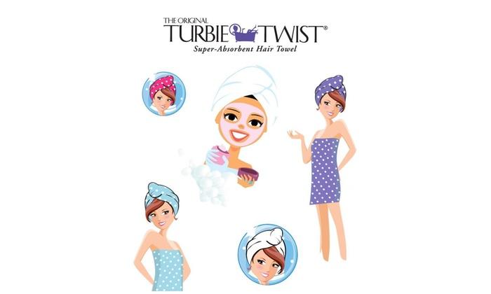 Turbie Twist Microfiber Hair Towel Wrap Single Pack – The Original Microfiber