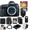 Canon EOS 5D Mark IV Digital SLR Camera with 64GB Card Deluxe Bundle