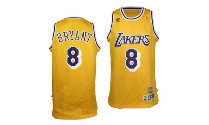 the best attitude 12642 cffb0 Kobe Bryant Los Angeles Lakers Hardwood Classics #8 Swingman Jersey XL - XL
