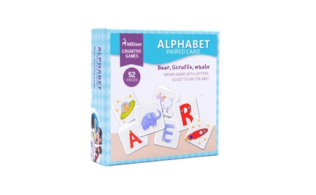 Children Associative Memory Pairing Letters Card Kid Puzzle Toy 7c79f7c3-501c-443f-8e8a-637722b56dd4