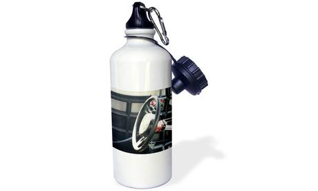 Water Bottle - Racing Car Wheel - 21oz